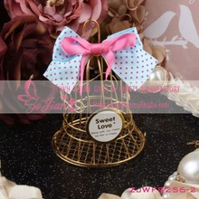 Wedding Favor Box Metal Bird Cage Candy Box Chocolate Boxes