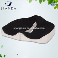 car seat wedge cushion, memory foam office/car/stadium seat cushion, regular seat cushion