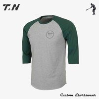 High quality custom dry fit long sleeve t-shirt