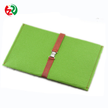 100% polyester felt portable easy to carry Eco-friendly felt phone bag cooler bag for phone