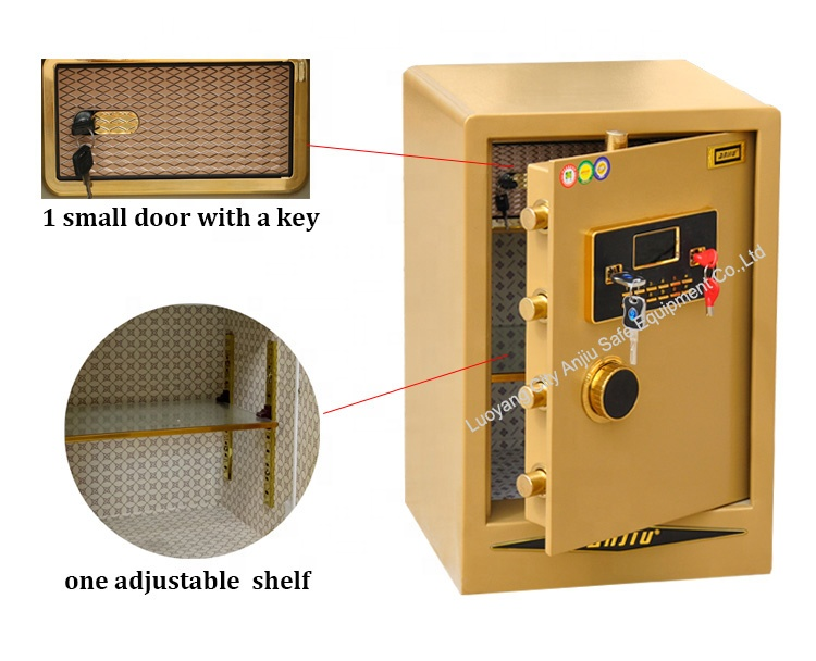 Office cash deposit electronic lock safe box