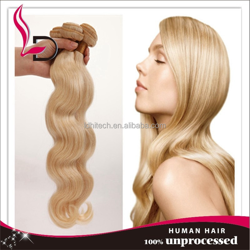 QUALITY ASSURED wholesale hair weave bundles, blonde european hair extension