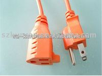 Power Cord UL Plug to Figure Fig 8 Lead Cable with UL ROHS Certificated