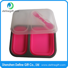 foldable silicone food storage containers