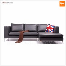 2017 new modern leather l shaped corner sofa luxury leather couches living room furniture