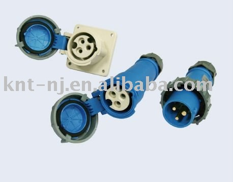 16A 3P Industrial Plug and Socket