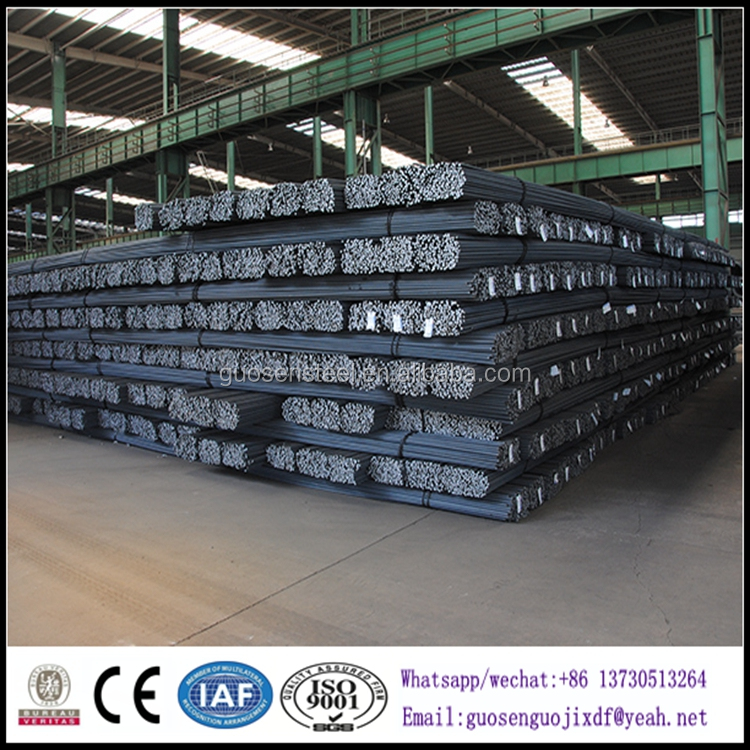 ASTM A615 GRADE 40 60 75 deformed bar/ deformed round steel bar