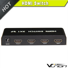 Best price 3 x 1 hub 3 port hdmi switch hdmi