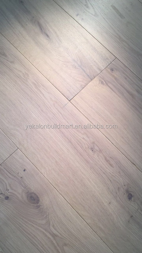 Unique design Flooring Ivory White Oak Flooring European Timber Engineered Timber Floors Russia Oak click China manufacturer