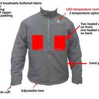 Warming Jacket With Battery For Winter