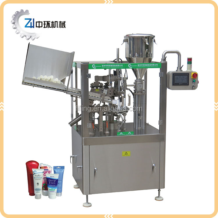 Automatic cleansing milk filling and sealing machine