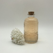 Elegant Cute 150ML Round Clear Small Mouth Tequila Glass Bottle With Cork Cap For Drinking Packaging Cheap Glass Bottle