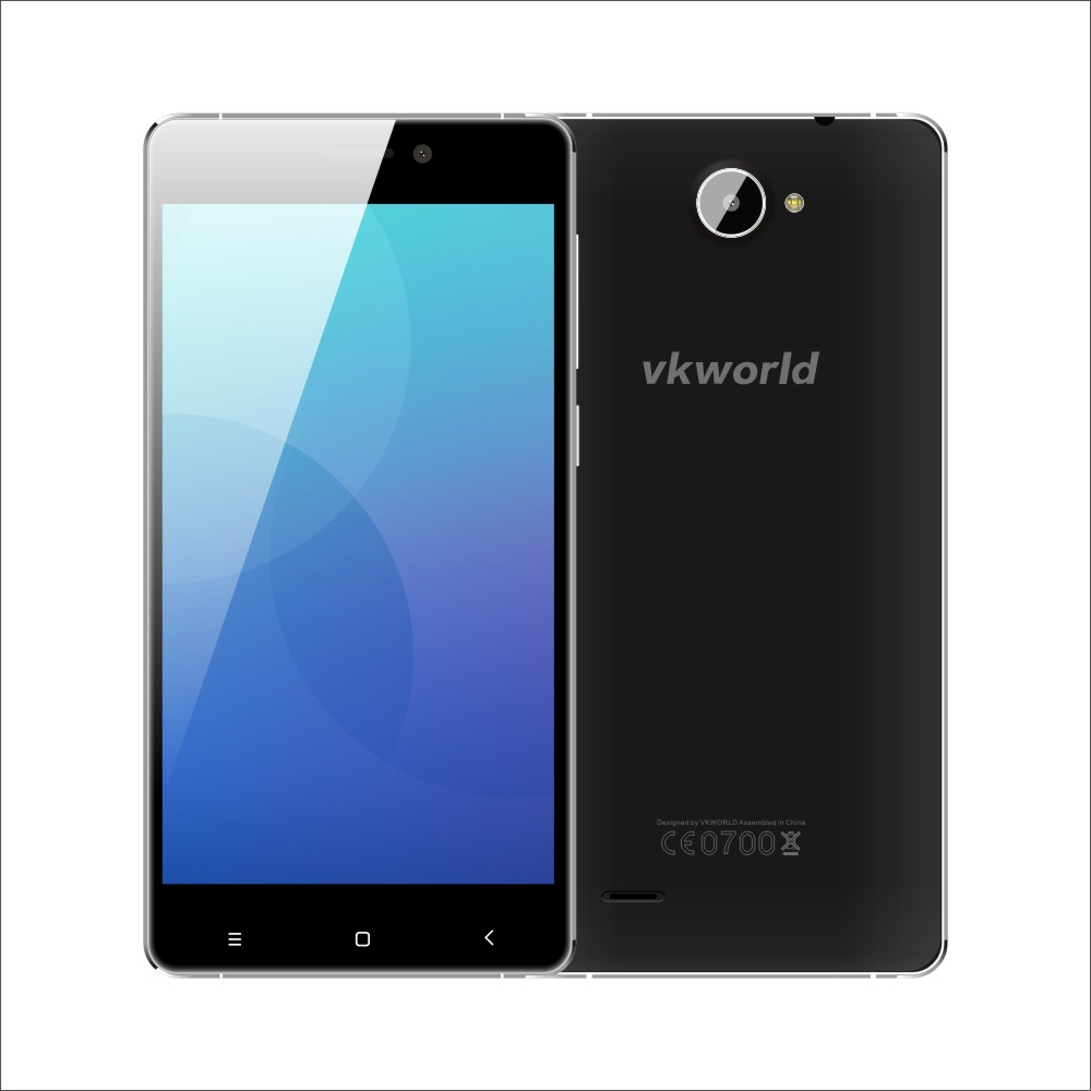 VKWORLD VK700X 5 inch MTK6580A Quad Core RAM 1G ROM 8G 5MP+8MP Camera Android 5.1 3G Metal Frame Mobile Phone PK doogee x5