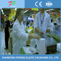 plastic packaging rolling bag for food
