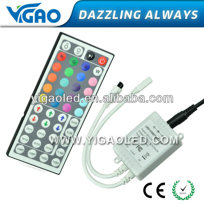 44 led touch controller for led lighting for RGB light
