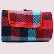 picnic blanket bag camping mat with handle strap
