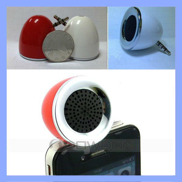 3.5mm Portable Stereo Music Mini Speaker for iPhone iPod iPad MP3 MP4 Mobile Phone Computer