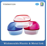 OEM customer design plastic lunch box mould injection maker