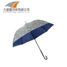 parasol black uv protection windproof straight umbrella for wedding