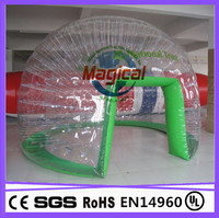 party double layer PVC igloo inflatable clear tent