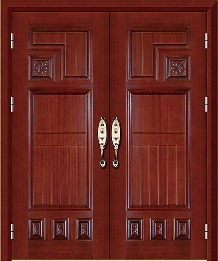 interior solid wood USA mahogany my front door exterior