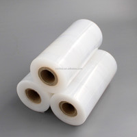 china polyethylene stretch film thick clear plastic bags on roll