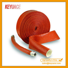 ZFR Silicone Coated Fiberglass Sleeve Protective Hydraulic Hose