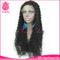 Grade 7A long virgin brazilian hair tina turner front lace wig human hair lace wig