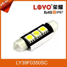 Factory Error- free Non-polar 3smd error free canbus bulb led