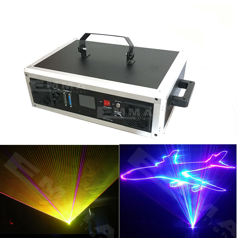 high power SD Card rgb laser light animation disco night club dj lighting outdoor laser light show