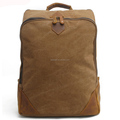 New 2018 Vintage High Density Thick Canvas Functional Rucksack Backpack