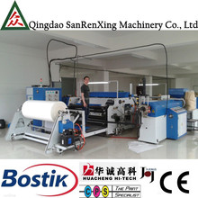 Automatic multi-layer single screw extrusion coating lamination plant extruding film machine manufacturer