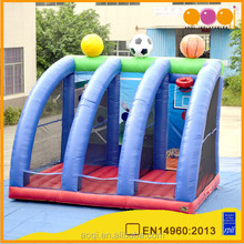 exciting inflatable ball game inflatable sports game hot cheap toys
