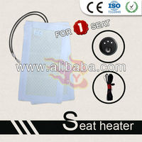High Quality seat heater with Round Hi-mid-Low-off Switch