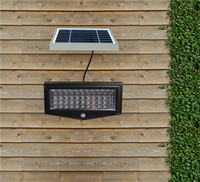 Motion Sensor LED White Security Solar Flood Light