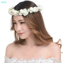 wedding Hair Bands decoration supplies Artificial Flower bridal Head Wreath