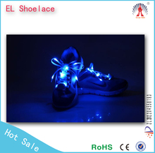 custom shoelace aglet/light up led shoelace/led lighted walmart poster