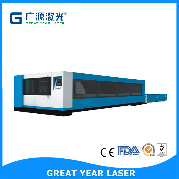 Supplier Automatic fiber laser cutting systems for thin metal sheet 500W-2000W