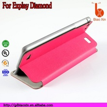 2014 new design and good quality colorful leather case for Explay Diamond ,alibaba express for Explay Diamond