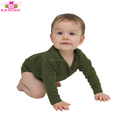 Toddler Baby Clothing 95% Cotton Cheap Kids Clothing Romper Newborn Baby Plain Long Sleeve Infant Romper