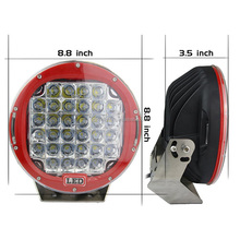 2017 Newest 9 inch 320W 9 round led driving light ip68 for 4x4 Off-road SUV RV Jeep