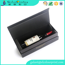 2017 newest Luxury special design wine box paper packaging box with custom logo