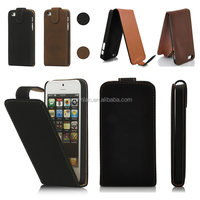 Newest High Quality Luxury Vertical Leather Suede Magnetic Flip Phone Case for iPhone 6