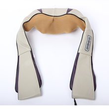 Home Car Use Electric Massage Belt Vibrating Slimming Shiatsu Kneading Neck And Shoulder Massager With Heat