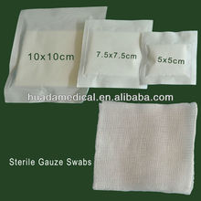 absorb blood medical product hospital cleaning gauze swab