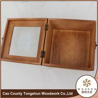 Wooden Card Drawer Collapsible Storage Box Wholesale