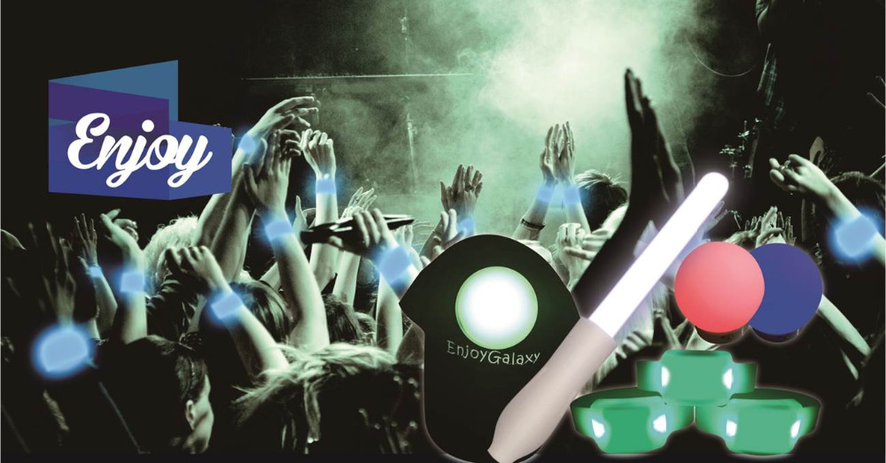 Intelligent led wristbands and LED reusable glow stick