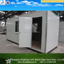 Prefab sandwich panel container house/tiny house/modular kit homes