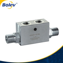DPOCV male thread hydraulic double pilot operated check valves