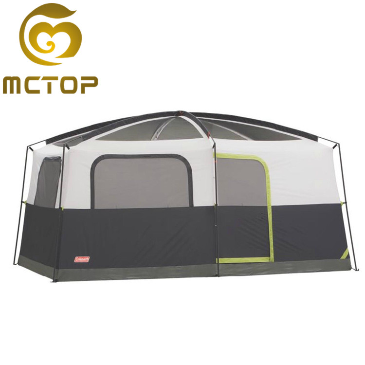 China manufacture foldable luxury camping tent family